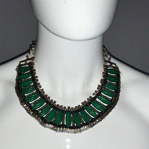 Vintage Egyptian Inspired Bib Necklace